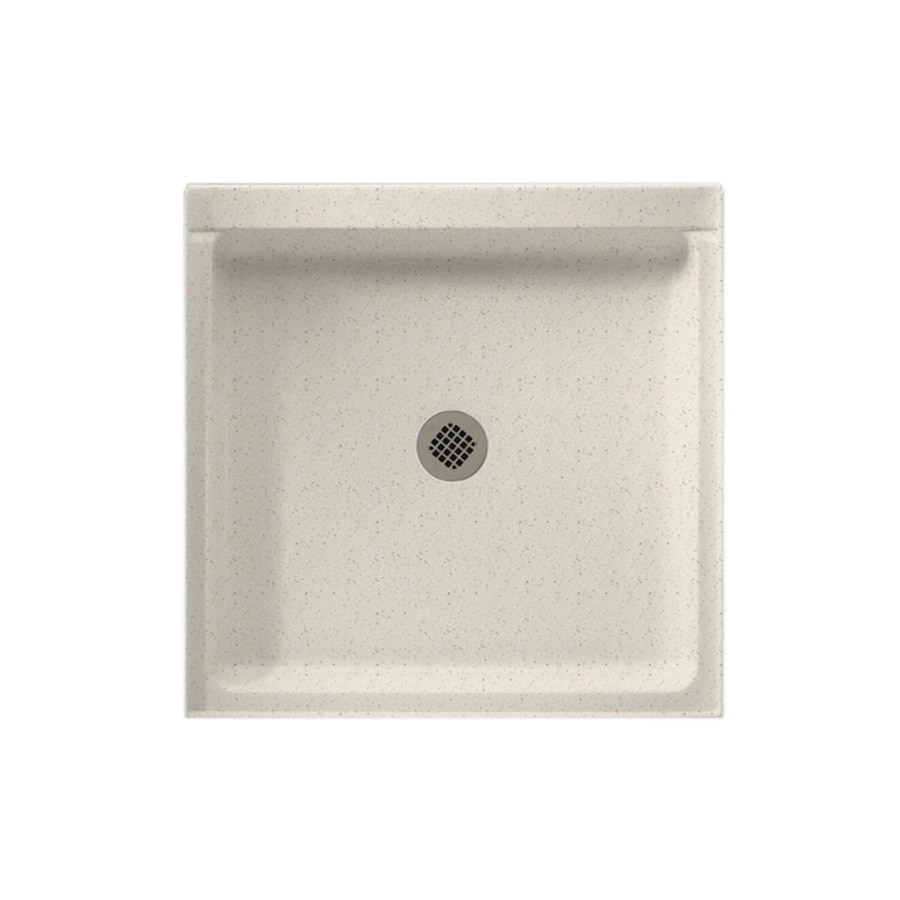 Swanstone Tahiti Matrix Solid Surface Shower Base (Common: 42-in W x 42-in L; Actual: 42-in W x 42-in L)