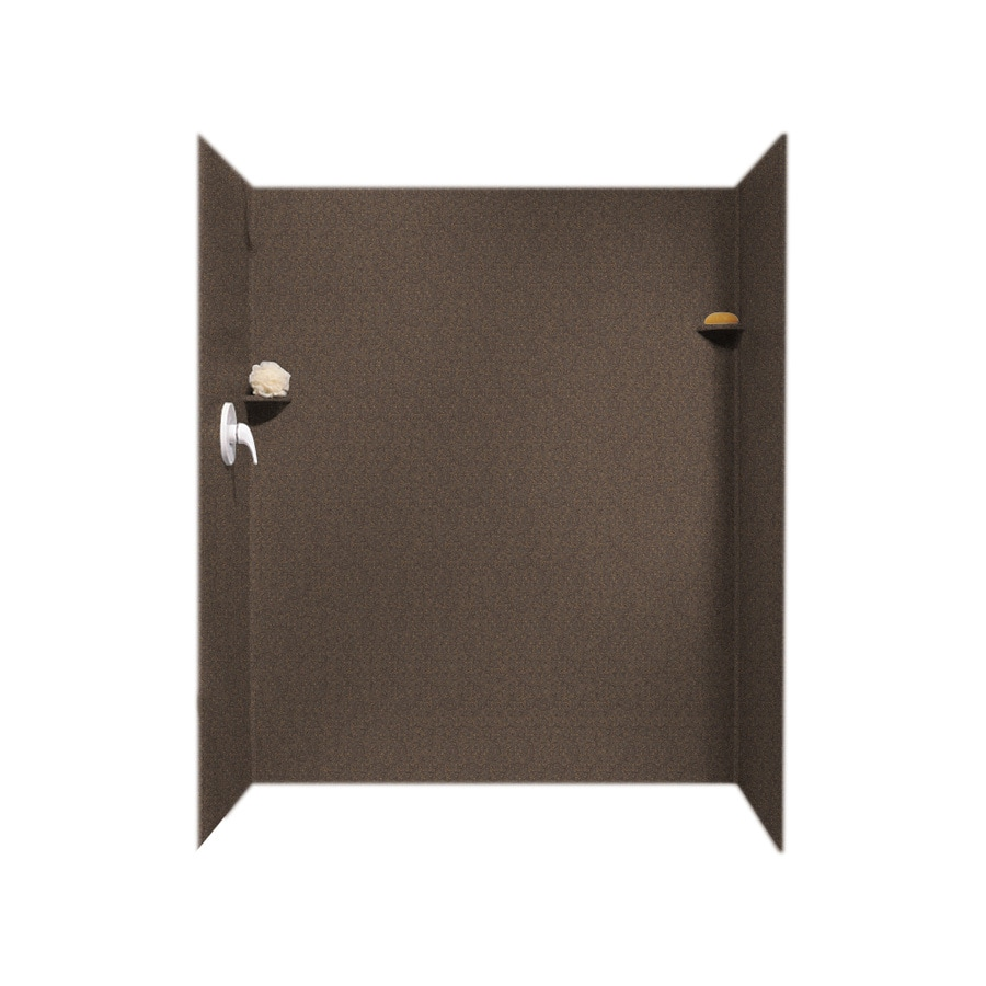 Swanstone Sierra Shower Wall Surround Side and Back Wall Kit (Common: 34-in x 60-in; Actual: 72-in x 34-in x 60-in)