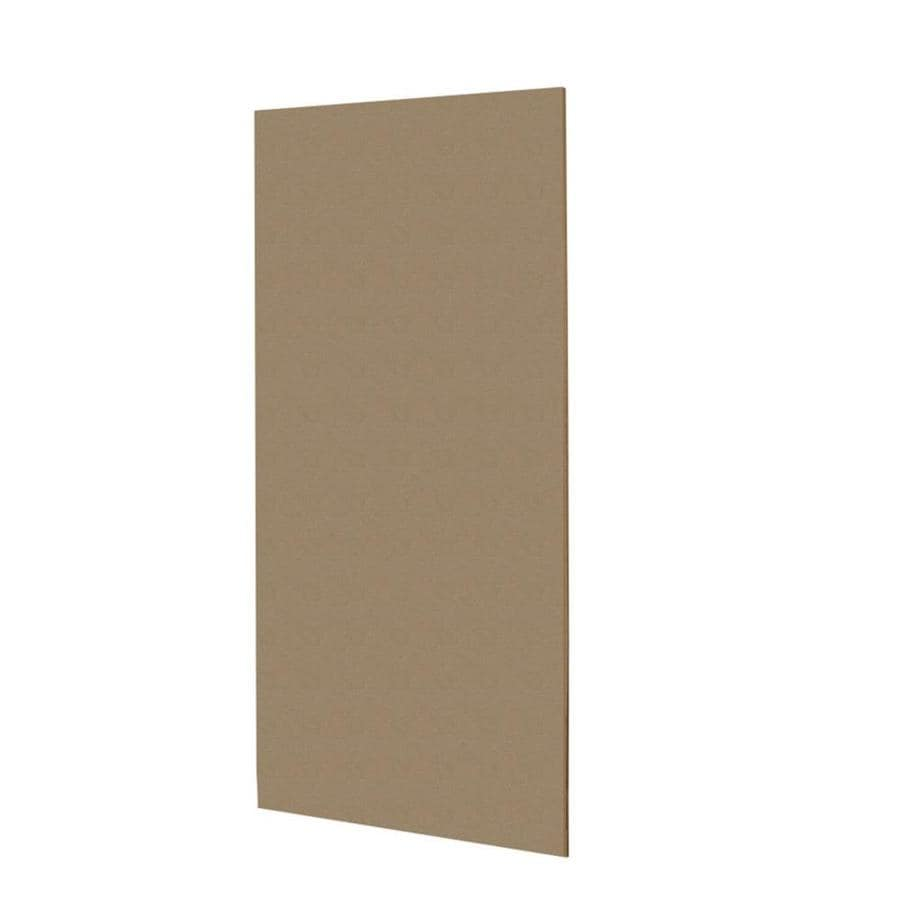 Swanstone Barley Shower Wall Surround Back Panel (Common: 0.25-in; Actual: 96-in x 0.25-in)