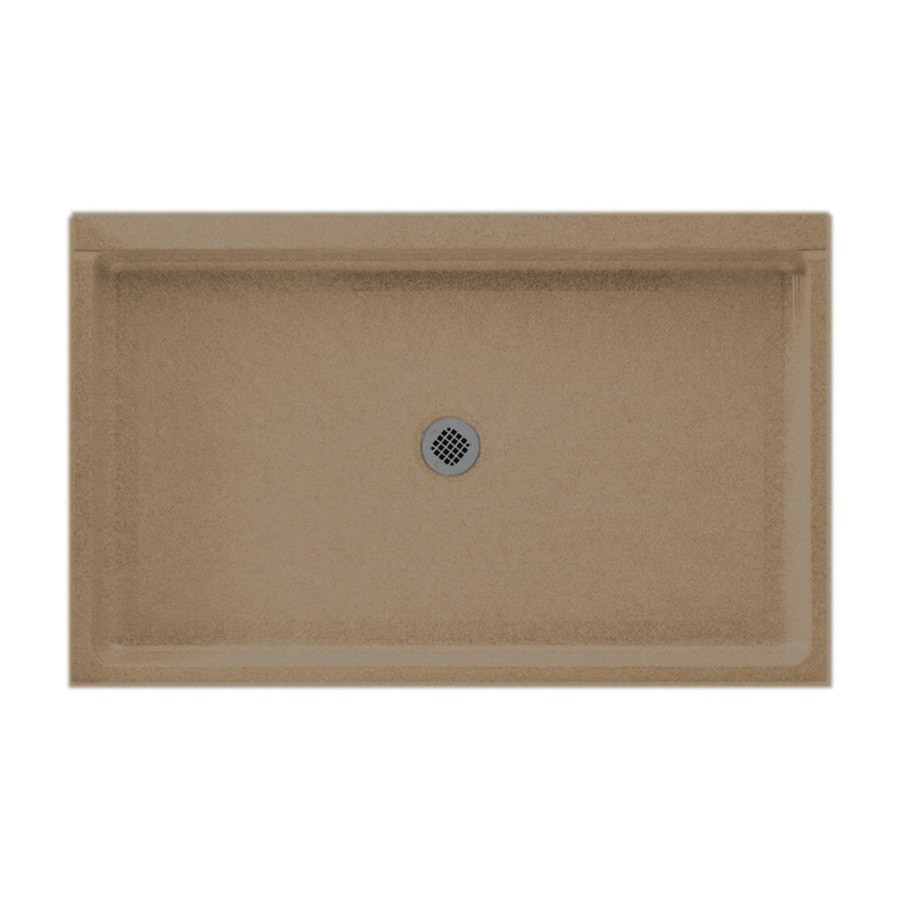 Swanstone Barley Solid Surface Shower Base (Common: 34-in W x 54-in L; Actual: 34-in W x 54-in L)