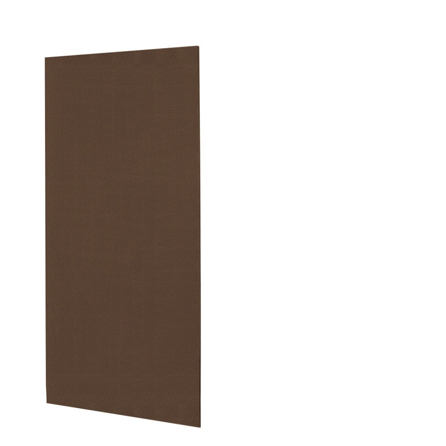 Swanstone Acorn Shower Wall Surround Back Panel (Common: 0.25-in; Actual: 72-in x 0.25-in)