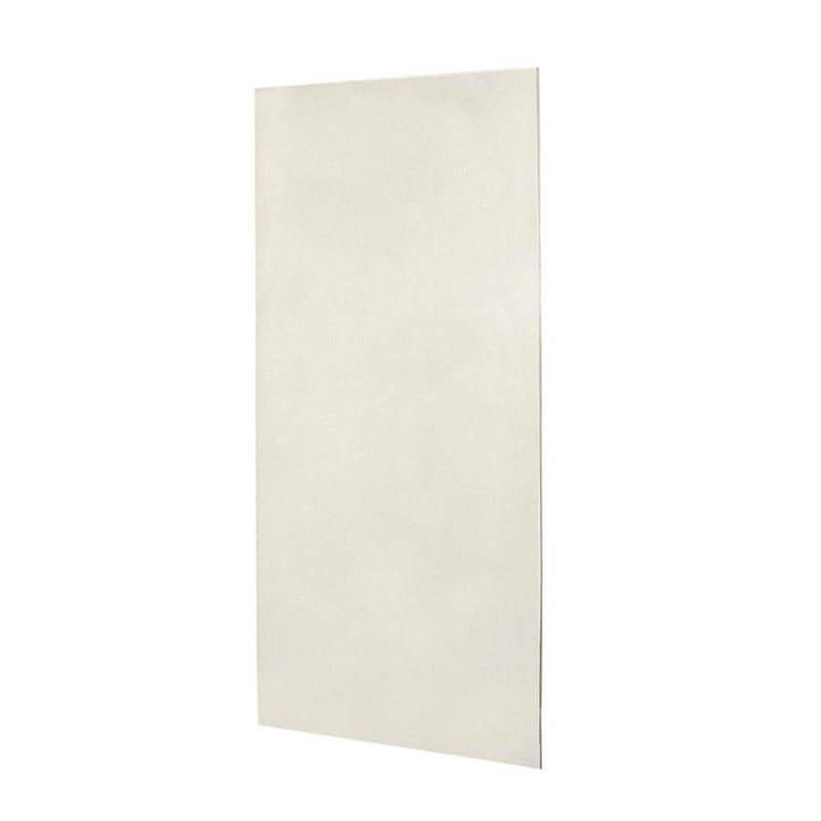 Swanstone Glacier Shower Wall Surround Back Wall Panel (Common: 0.25-in x 36-in; Actual: 96-in x 0.25-in x 36-in)