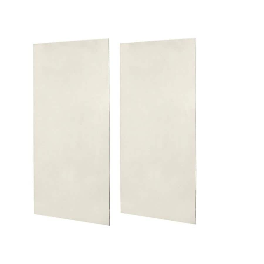 Swanstone Glacier Shower Wall Surround Back Panel (Common: 0.25-in; Actual: 96-in x 0.25-in)