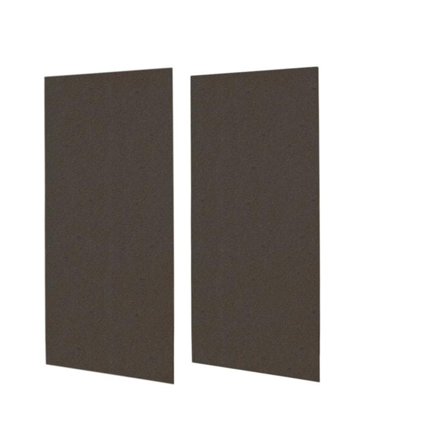 Swanstone Canyon Shower Wall Surround Side Wall Panel Kit (Common: 0.25-in x 48-in; Actual: 96-in x 0.25-in x 48-in)