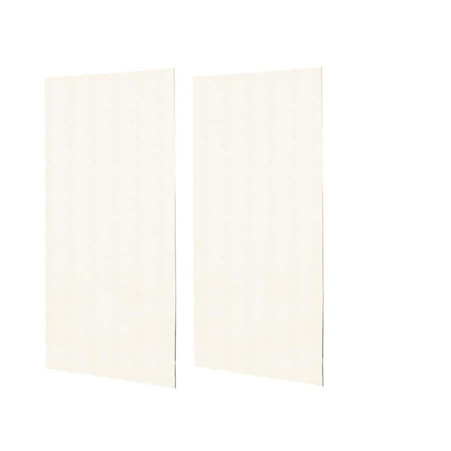 Swanstone Baby's Breath Shower Wall Surround Side Wall Panel Kit (Common: 0.25-in x 48-in; Actual: 96-in x 0.25-in x 48-in)