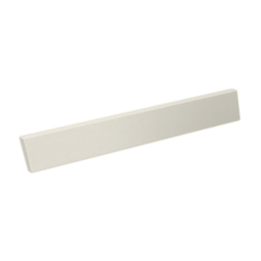 Swanstone 3.5-in H x 21.25-in L Glacier Bathroom Side Splash