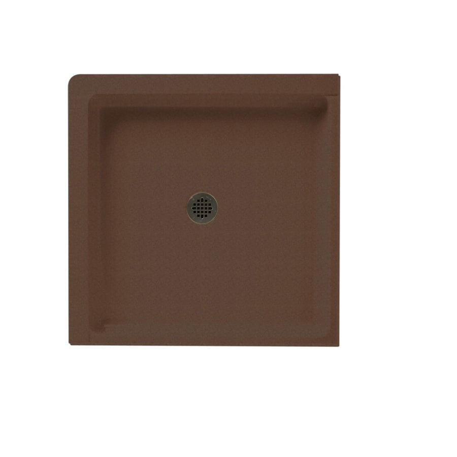 Swanstone Acorn Solid Surface Shower Base (Common: 36-in W x 36-in L; Actual: 36-in W x 36-in L)
