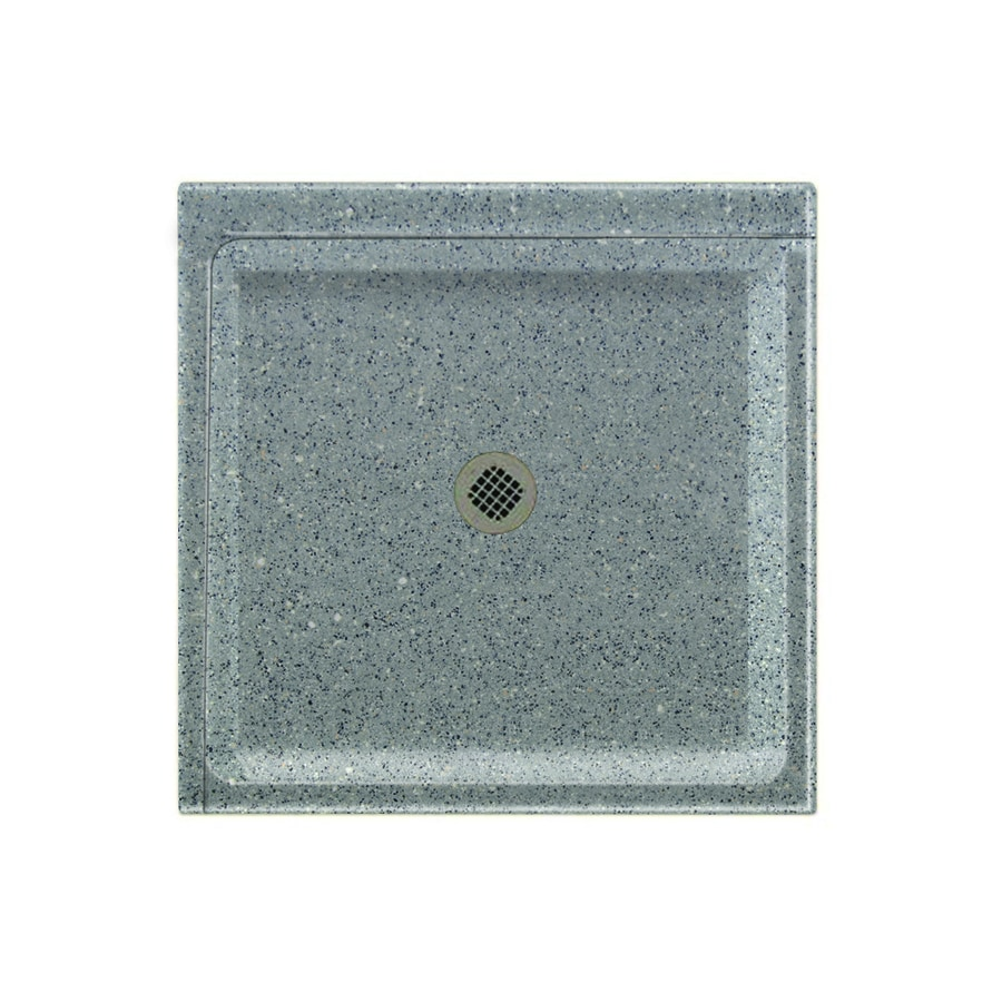 Swanstone Canyon Solid Surface Shower Base (Common: 36-in W x 36-in L; Actual: 36-in W x 36-in L)