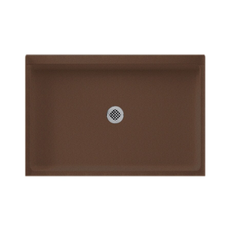 Swanstone Acorn Solid Surface Shower Base (Common: 32-in W x 48-in L; Actual: 32-in W x 48-in L)