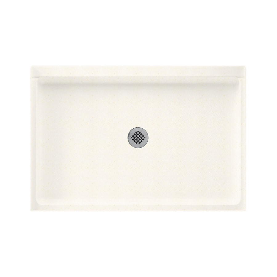 Swanstone Baby's Breath Solid Surface Shower Base (Common: 32-in W x 48-in L; Actual: 32-in W x 48-in L)