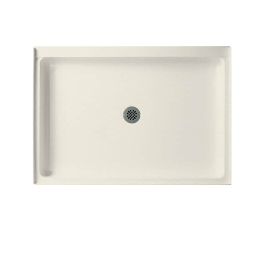 Swanstone Glacier Solid Surface Shower Base (Common: 34-in W x 42-in L; Actual: 34-in W x 42-in L)