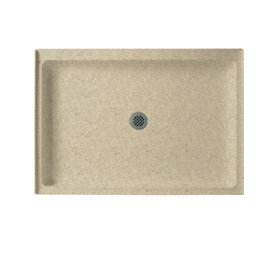 Swanstone Prairie Solid Surface Shower Base (Common: 34-in W x 42-in L; Actual: 34-in W x 42-in L)