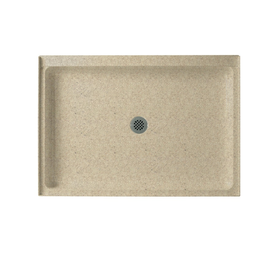 Swanstone Prairie Solid Surface Shower Base (Common: 34-in W x 48-in L; Actual: 34-in W x 48-in L)