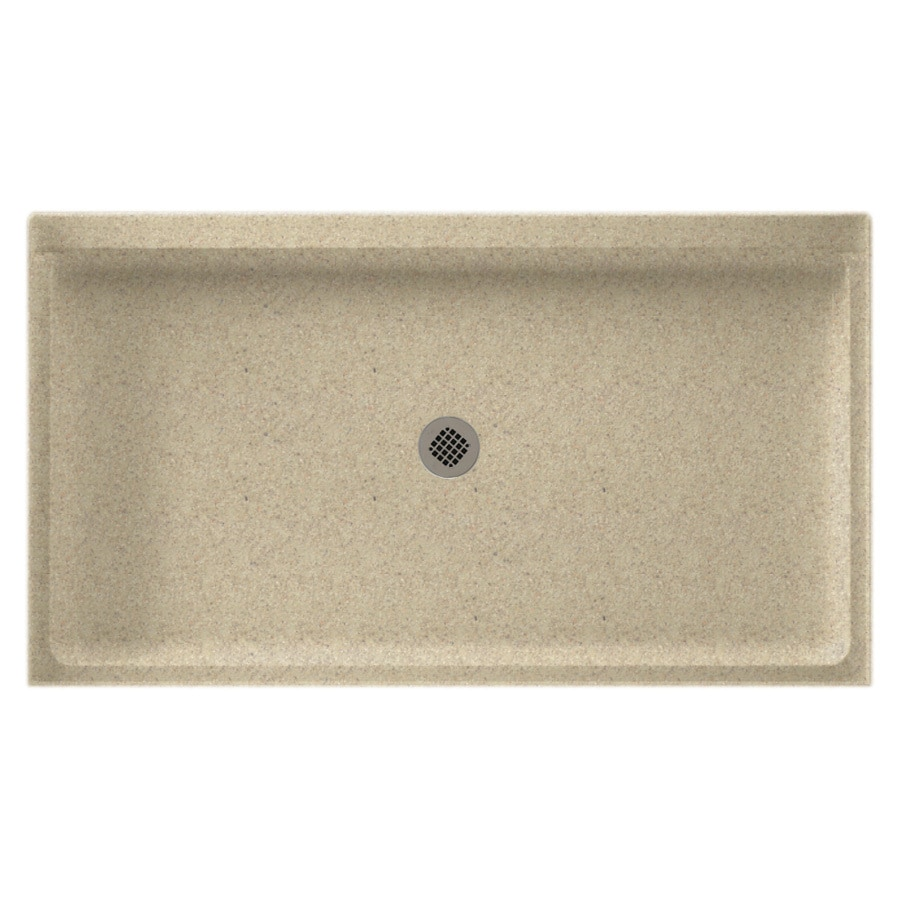 Swanstone Prairie Solid Surface Shower Base (Common: 34-in W x 54-in L; Actual: 34-in W x 54-in L)