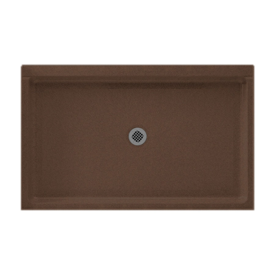 Swanstone Acorn Solid Surface Shower Base (Common: 34-in W x 54-in L; Actual: 34-in W x 54-in L)