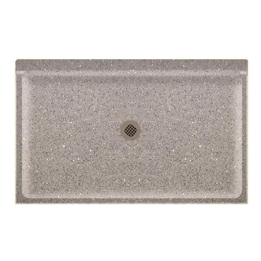 Swanstone Canyon Solid Surface Shower Base (Common: 34-in W x 54-in L; Actual: 34-in W x 54-in L)