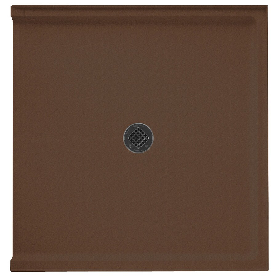 Swanstone Acorn Solid Surface Shower Base (Common: 37-in W x 38-in L; Actual: 37-in W x 38-in L)