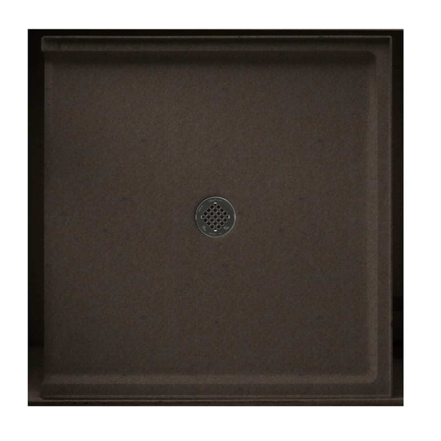 Swanstone Canyon Solid Surface Shower Base (Common: 37-in W x 38-in L; Actual: 37-in W x 38-in L)