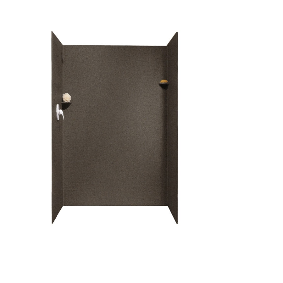 Swanstone Canyon Shower Wall Surround Side and Back Panels (Common: 32-in x 48-in; Actual: 72-in x 32-in x 48-in)