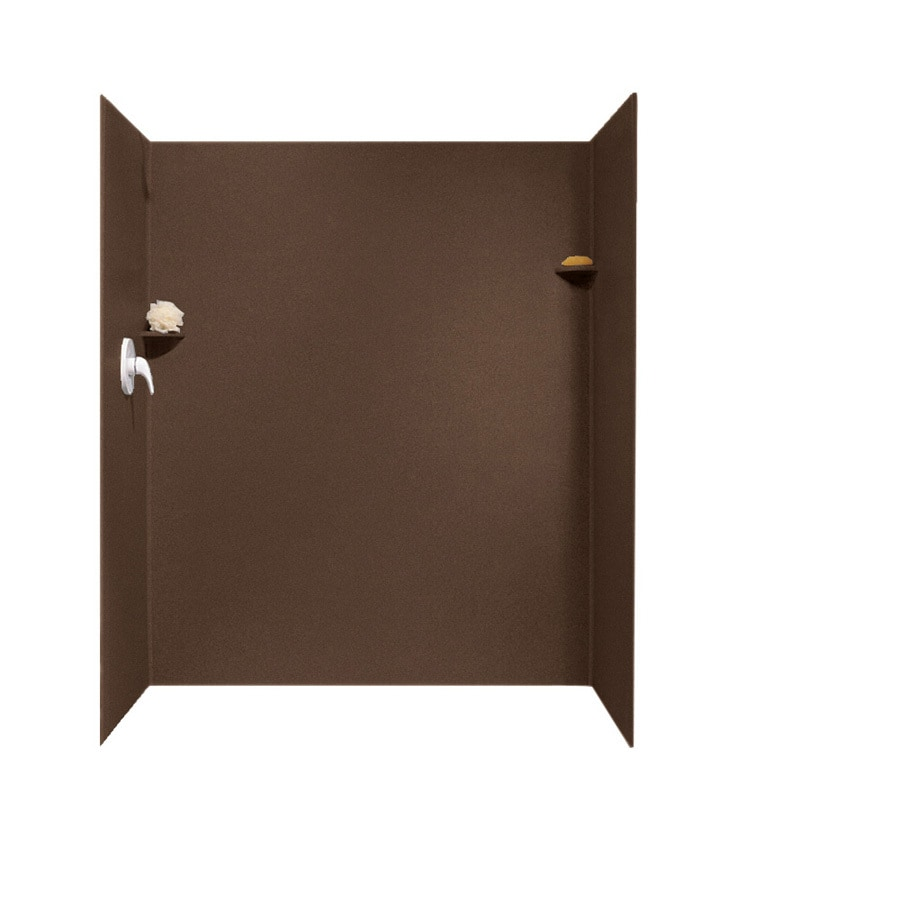 Swanstone Acorn Shower Wall Surround Side and Back Panels (Common: 34-in; Actual: 72-in x 34-in)