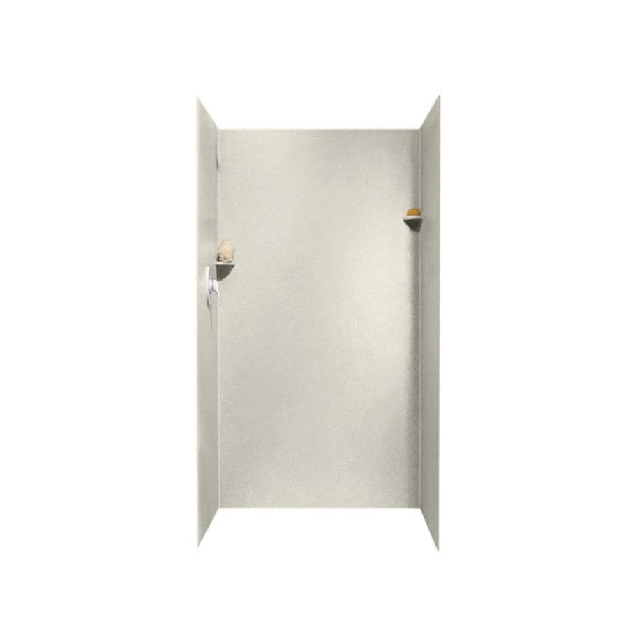 Swanstone Glacier Shower Wall Surround Side and Back Panels (Common: 36-in; Actual: 72-in x 36-in)