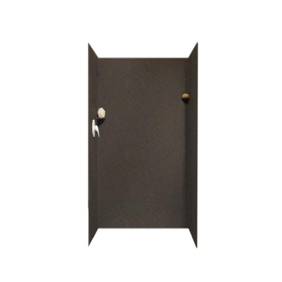 Swanstone Canyon Shower Wall Surround Side And Back Wall Kit (Common: 36-in x 36-in; Actual: 72-in x 36-in x 36-in)