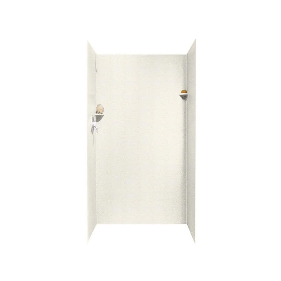 Swanstone Baby's Breath Shower Wall Surround Side And Back Wall Kit (Common: 36-in x 36-in; Actual: 72-in x 36-in x 36-in)
