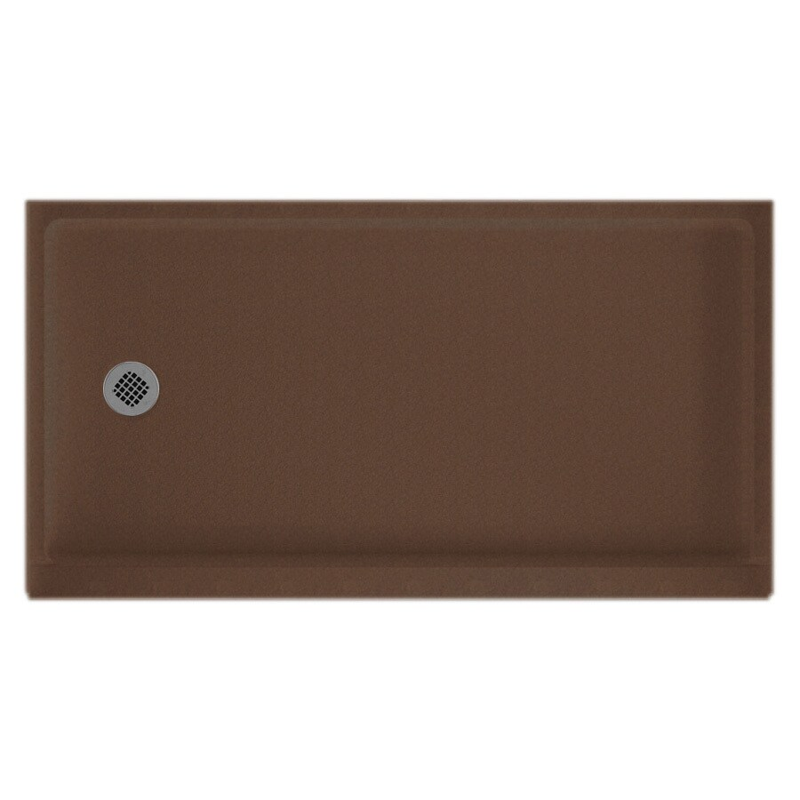 Swanstone Acorn Solid Surface Shower Base (Common: 32-in W x 60-in L; Actual: 32-in W x 60-in L)