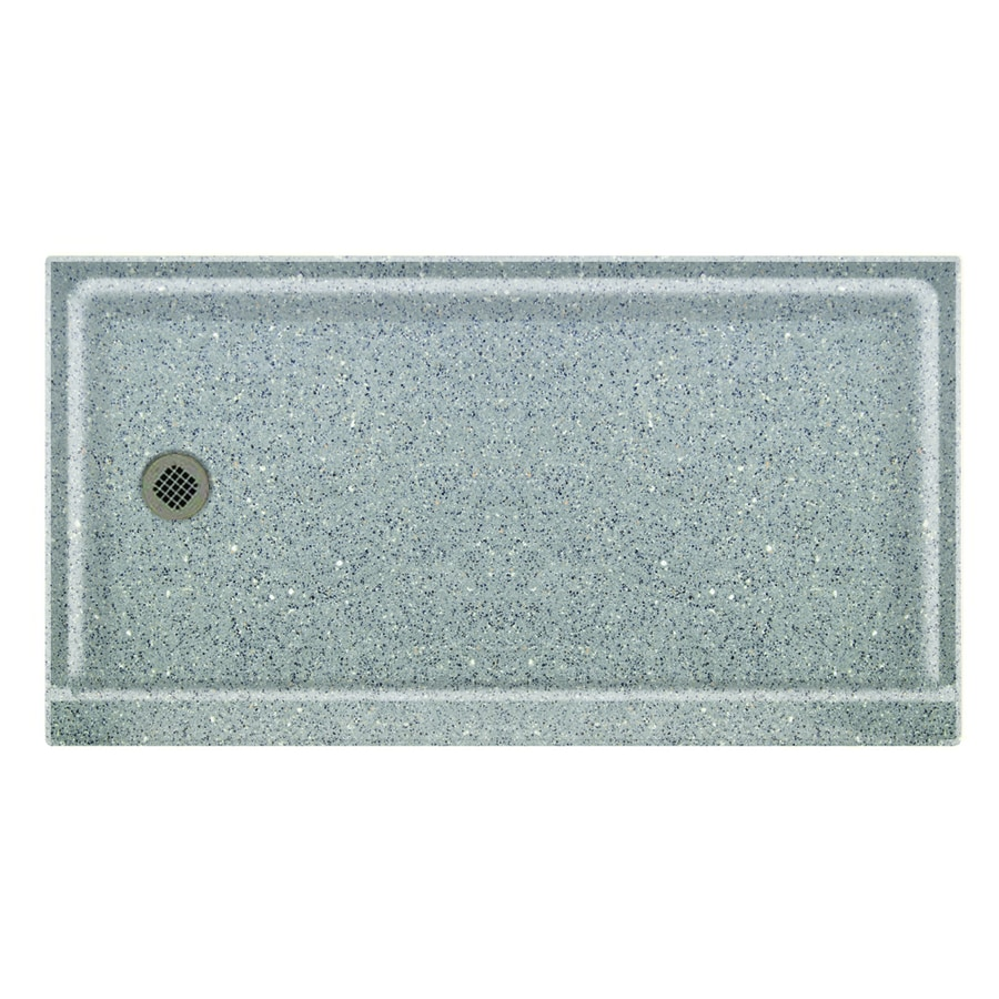 Swanstone Canyon Solid Surface Shower Base (Common: 32-in W x 60-in L; Actual: 32-in W x 60-in L)