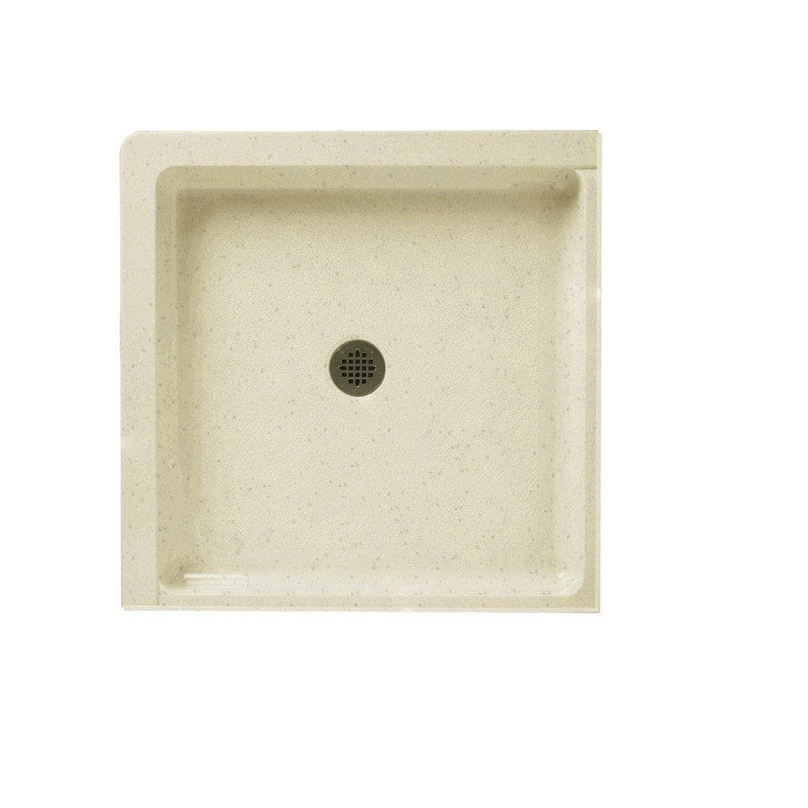 Swanstone Caraway Seed Solid Surface Shower Base (Common: 36-in W x 36-in L; Actual: 36-in W x 36-in L)
