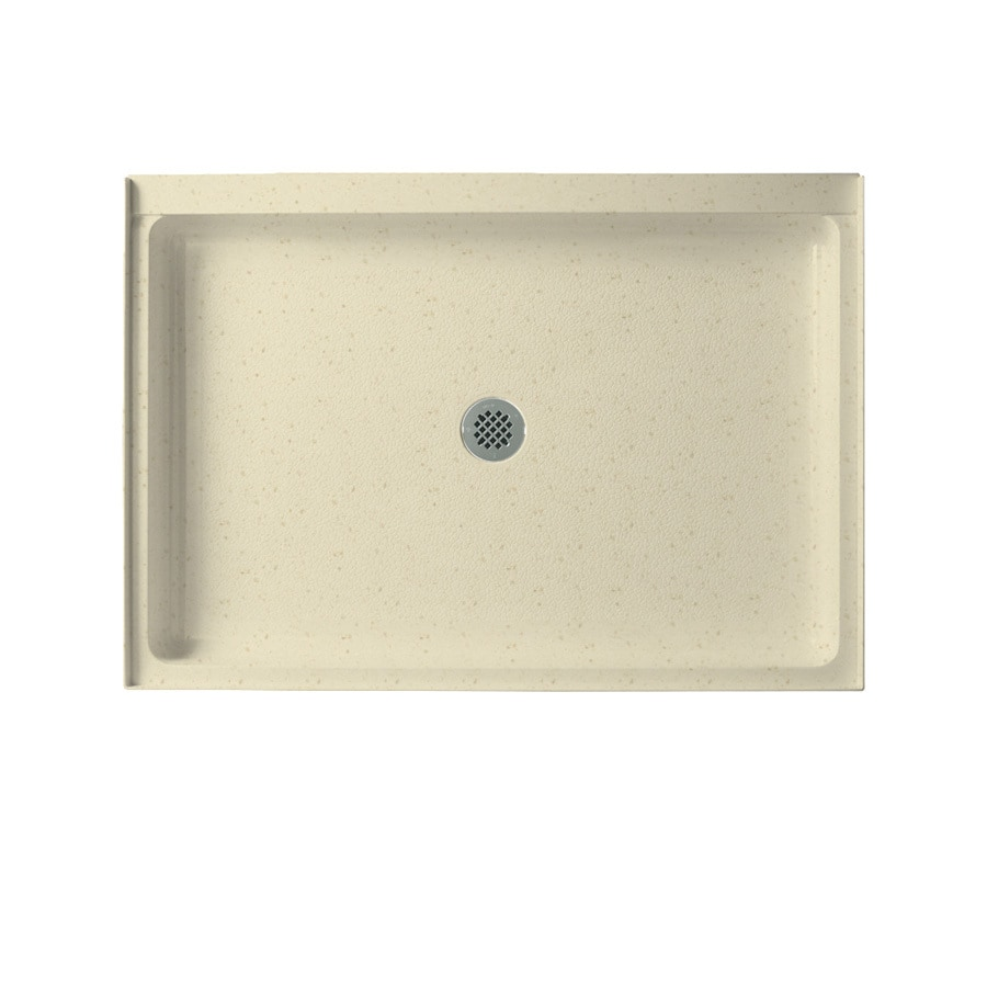 Swanstone Caraway Seed Solid Surface Shower Base (Common: 34-in W x 42-in L; Actual: 34-in W x 42-in L)