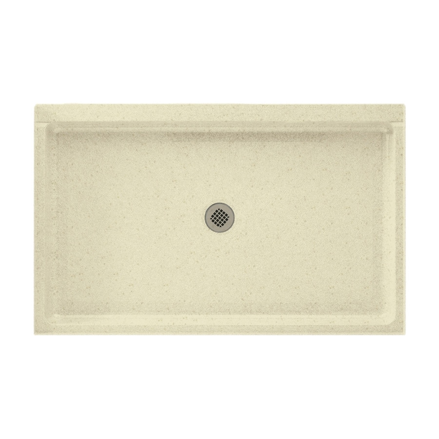 Swanstone Caraway Seed Solid Surface Shower Base (Common: 34-in W x 54-in L; Actual: 34-in W x 54-in L)