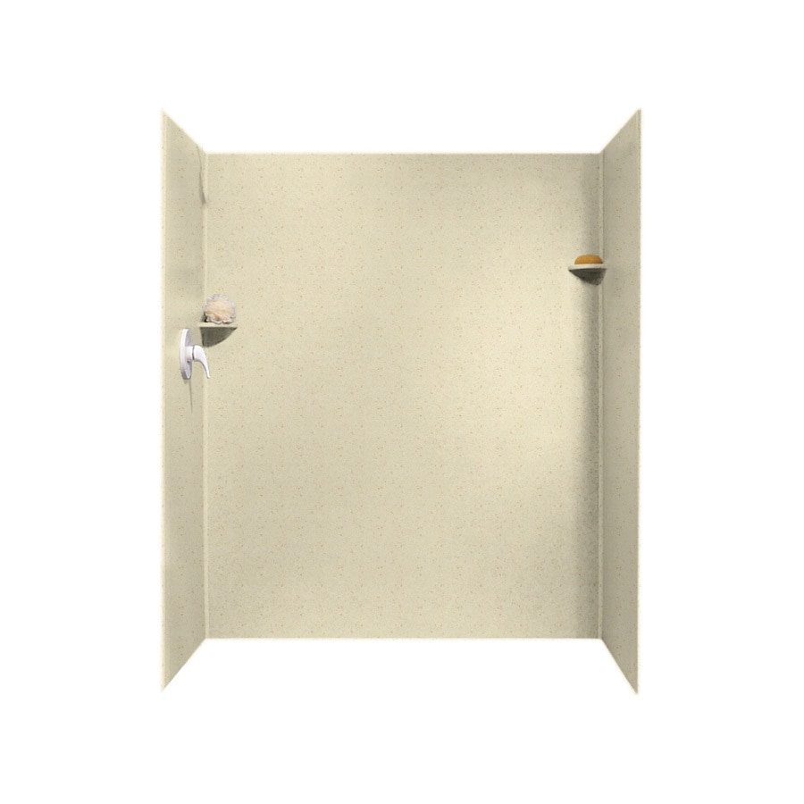 Swanstone Caraway Seed Shower Wall Surround Side And Back Wall Kit (Common: 34-in x 60-in; Actual: 72-in x 34-in x 60-in)