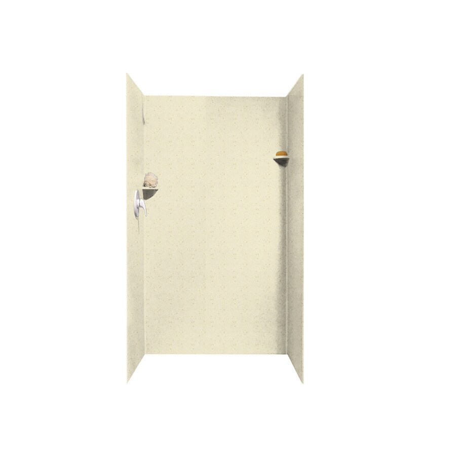 Swanstone Caraway Seed Shower Wall Surround Side And Back Wall Kit (Common: 36-in x 36-in; Actual: 72-in x 36-in x 36-in)