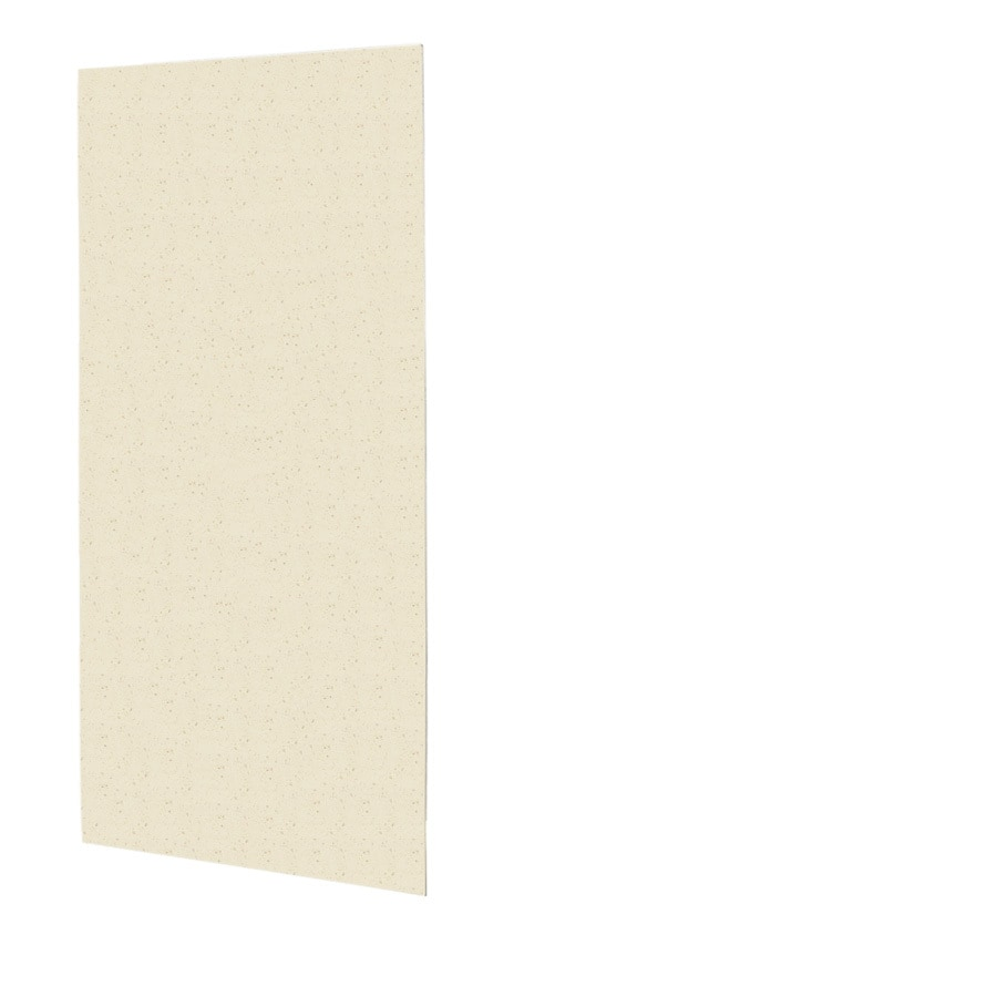 Swanstone Caraway Seed Shower Wall Surround Back Panel (Common: 0.25-in; Actual: 96-in x 0.25-in)