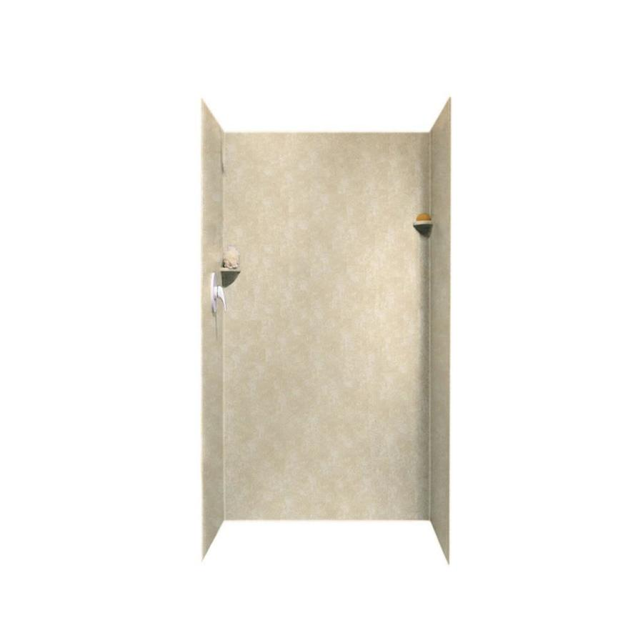 Swanstone Cloud Bone Shower Wall Surround Side and Back Panels (Common: 36-in; Actual: 72-in x 36-in)