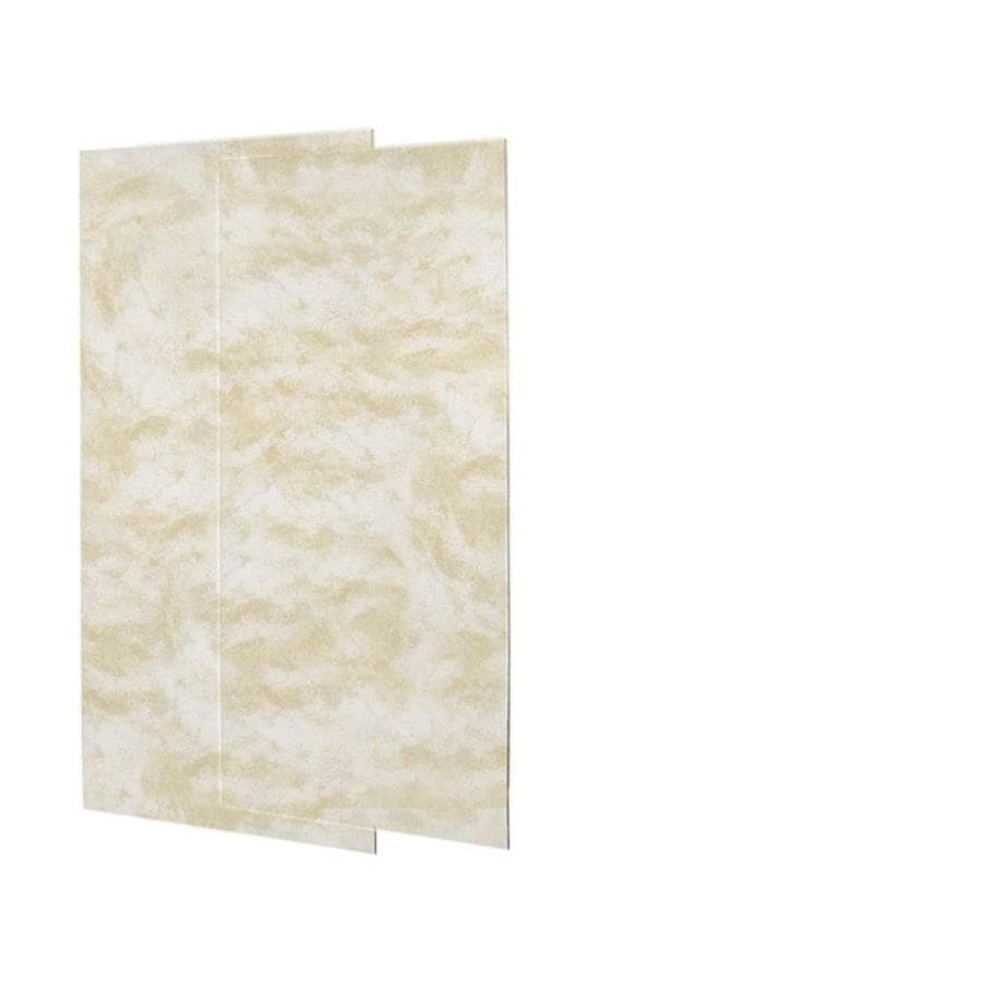 Swanstone Cloud White Shower Wall Surround Back Panel (Common: 0.25-in; Actual: 72-in x 0.25-in)