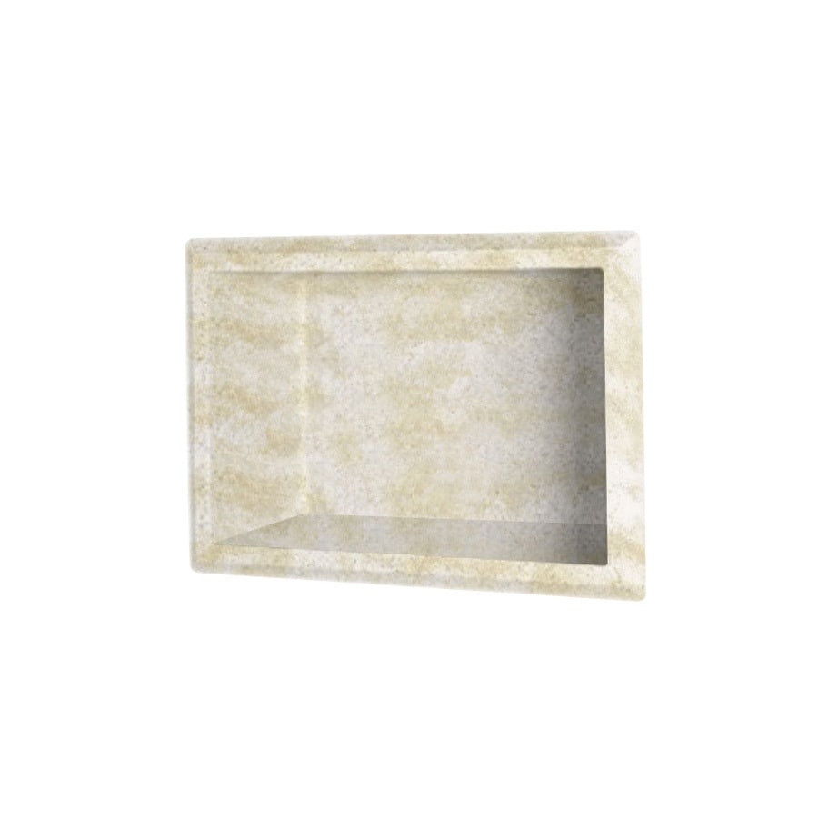 Swanstone Cloud White Shower Wall Shelf