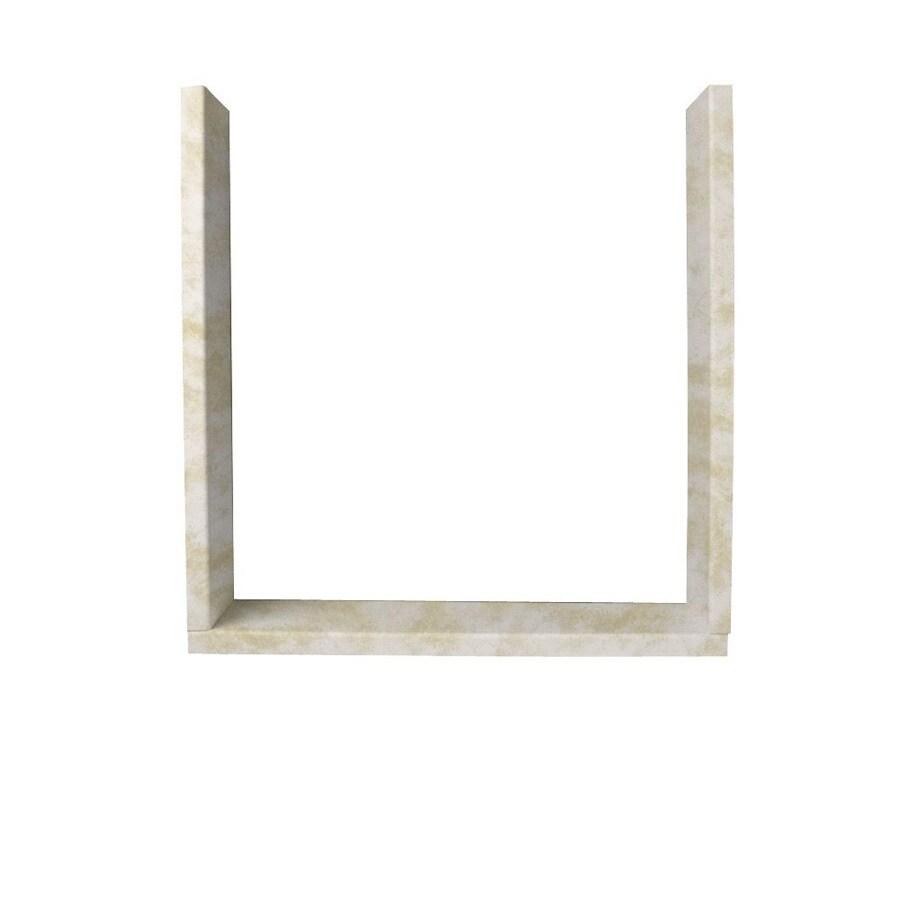 Swanstone Cloud White Shower Wall Window Trim Kit