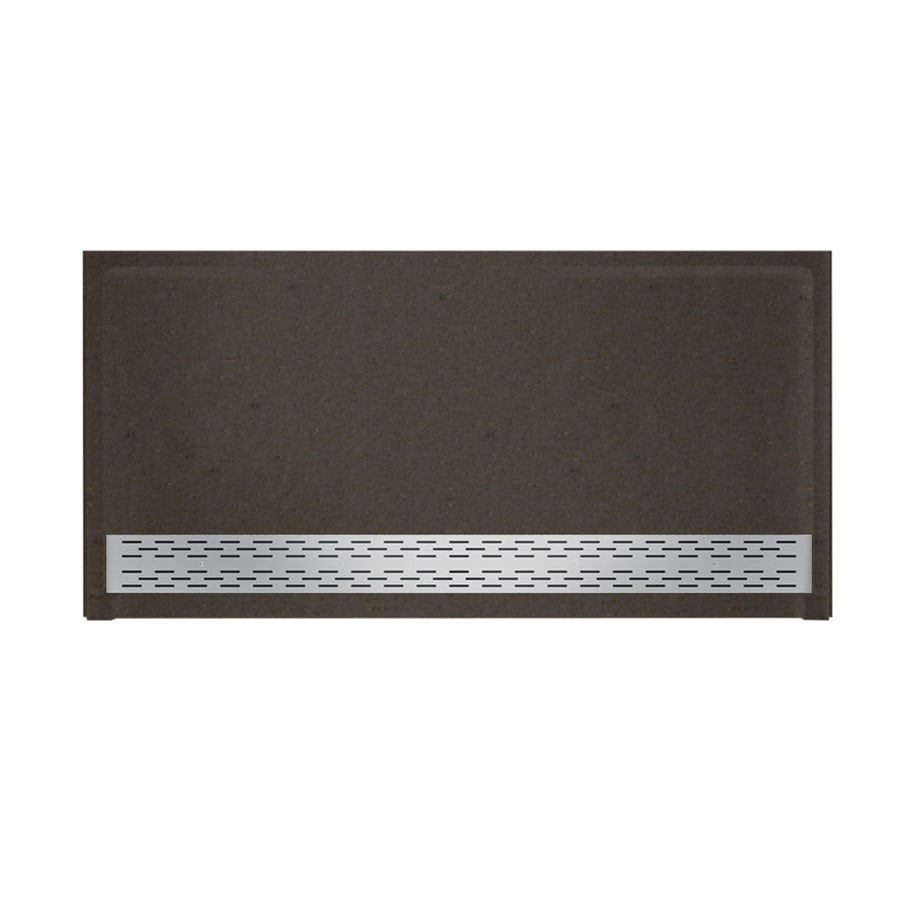 Swanstone Canyon Solid Surface Shower Base (Common: 64-in W x 34-in L; Actual: 64.25-in W x 34.125-in L)