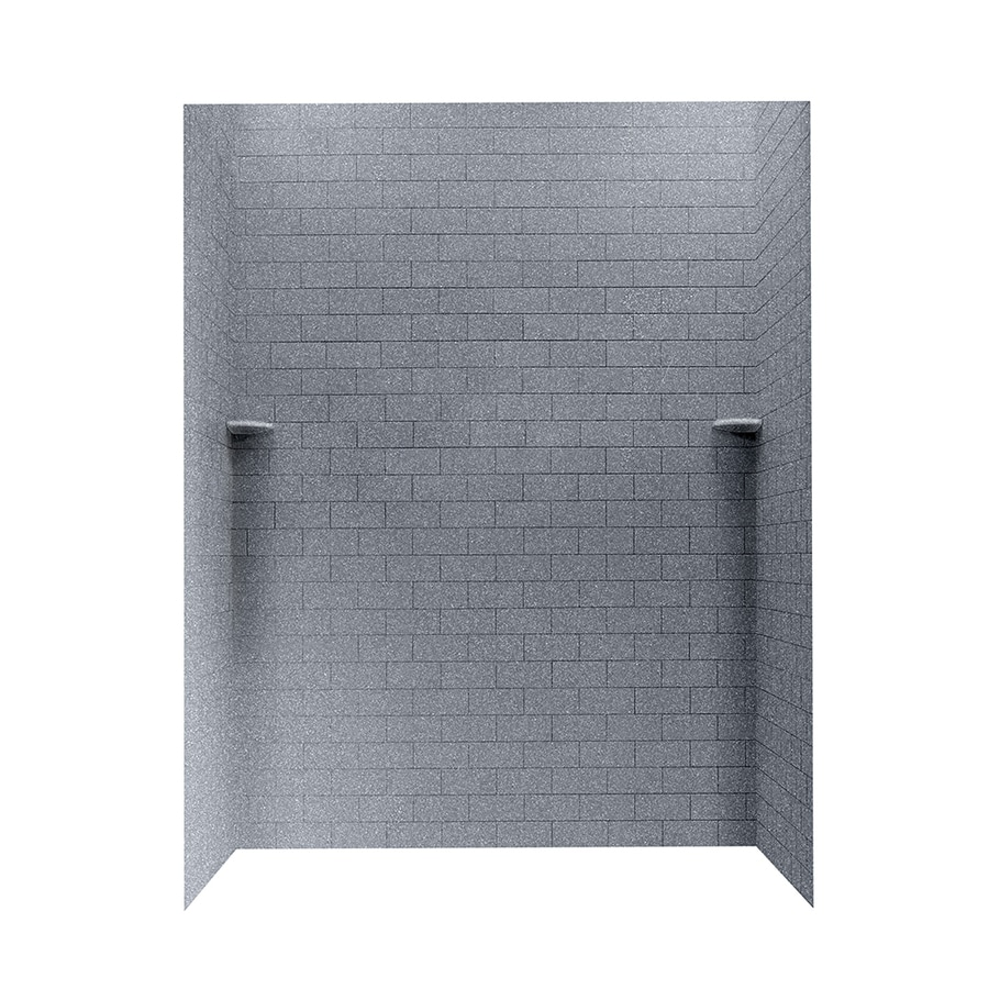Swanstone Night Sky Shower Wall Surround Side And Back Wall Kit (Common: 62-in x 36-in; Actual: 72.5-in x 62-in x 36-in)
