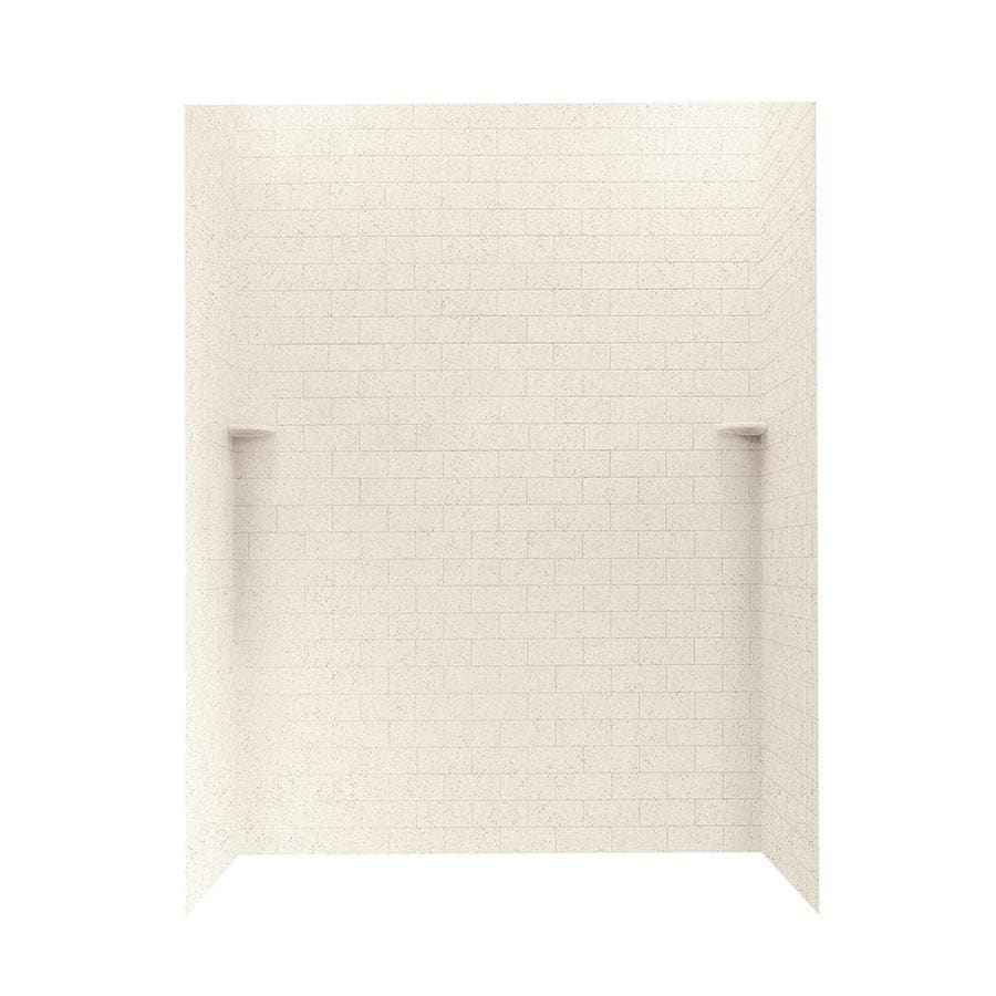 Swanstone Tahiti Desert Shower Wall Surround Side and Back Walls (Common: 62-in x 36-in; Actual: 72.5-in x 62-in x 36-in)