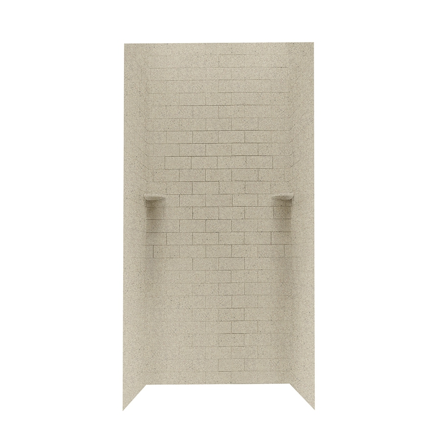 Swanstone Prairie Shower Wall Surround Side and Back Walls (Common: 36-in x 36-in; Actual: 72.5-in x 36-in x 36-in)