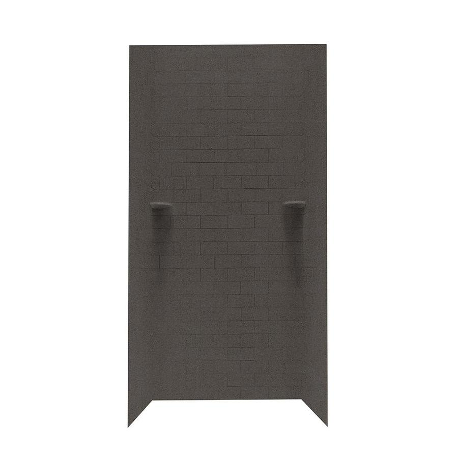 Swanstone Canyon Shower Wall Surround Side and Back Walls (Common: 36-in x 36-in; Actual: 72.5-in x 36-in x 36-in)