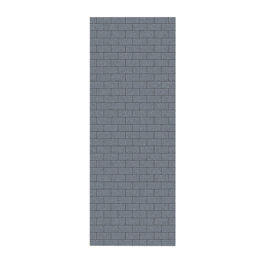 Swanstone Night Sky Shower Wall Surround Side Wall Panel (Common: 0.25-in x 36-in; Actual: 96-in x 0.25-in x 36-in)