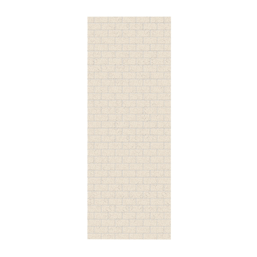 Swanstone Tahiti Desert Shower Wall Surround Side Panel (Common: 0.25-in x 36-in; Actual: 96-in x 0.25-in x 36-in)
