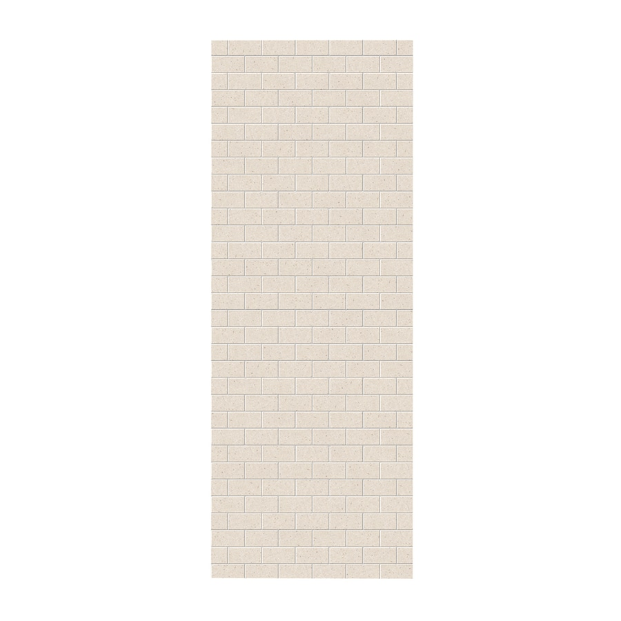 Swanstone Tahiti Sand Shower Wall Surround Side Wall Panel (Common: 0.25-in x 36-in; Actual: 96-in x 0.25-in x 36-in)