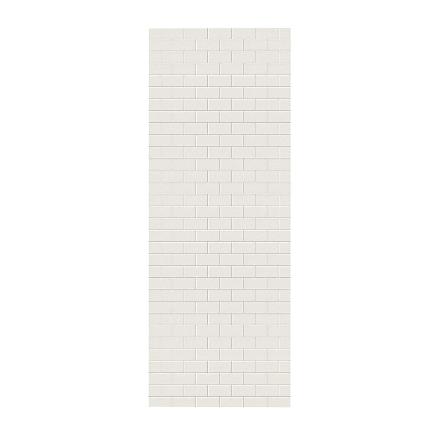 Swanstone Glacier Shower Wall Surround Side Panel (Common: 0.25-in x 36-in; Actual: 96-in x 0.25-in x 36-in)