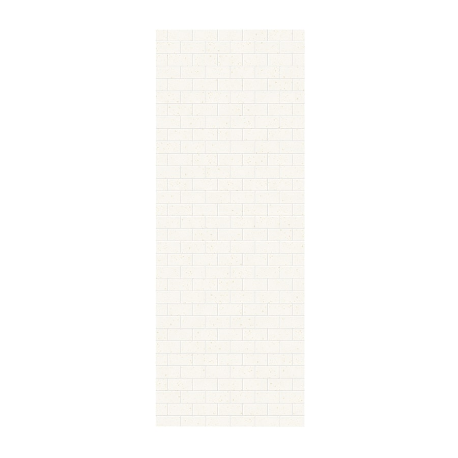 Swanstone Baby's Breath Shower Wall Surround Side Panel (Common: 0.25-in x 36-in; Actual: 96-in x 0.25-in x 36-in)