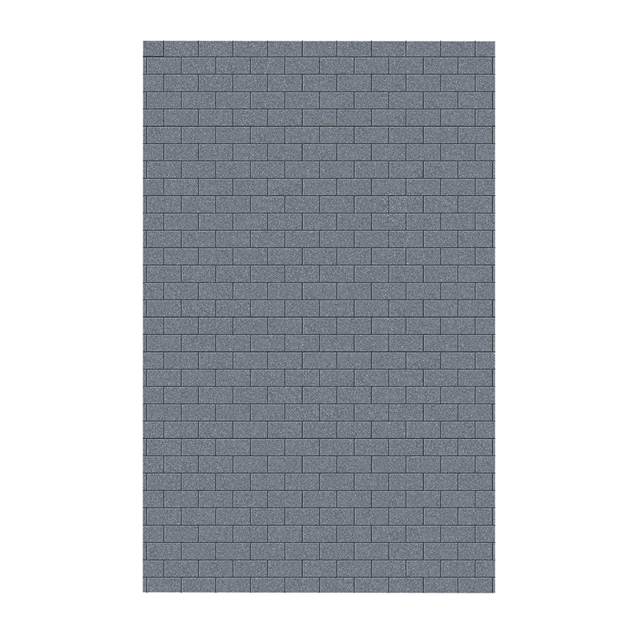 Swanstone Night Sky Shower Wall Surround Side Wall Panel (Common: 0.25-in x 62-in; Actual: 96-in x 0.25-in x 62-in)